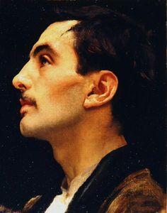 Frederic Leighton, Head of an Italian Model