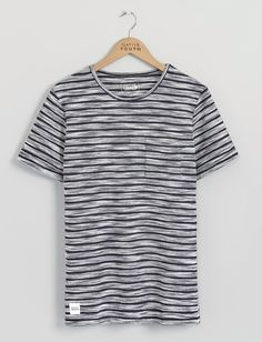 Textured Stripe Tee | Native Youth | Native Youth