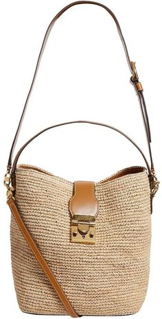Harrods, designer clothing, luxury gifts and fashion accessories : Mark Cross Large Raffia Murphy Shoulder Bag Leather Bags Handmade, Handmade Bags, Diy Jute Bags, Babysitting Bag, Crossbody Shoulder Bag, Crossbody Bag, Handbag Accessories, Fashion Accessories, Blessing Bags