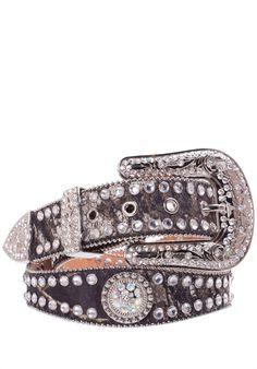 Blazin Roxx rhinestone western belt $47.95 Women's Belts - http://amzn.to/2id8d5j