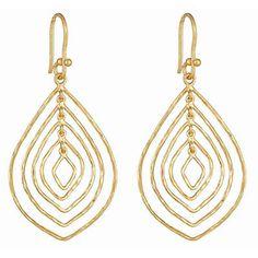 Gold Aspen Earrings