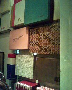vintage department store boxes