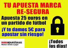 el forero jrvm y todos los bonos de deportes: marca apuestas apuesta 25 euros y recibe 5 mismo p...