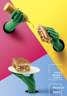 A rede de fast food de comida italiana Ragazzo apresenta campanha, criada pela PPM Brasil, para promover a nova linha de sanduíches 'Paninos'. Foram criados três pôsteres para PDVs. As peças sugerem o tratamento especial dedicado aos produtos e destacam a sofisticação dos ingredientes, como presunto de parma e queijo gruyère. Ficha Técnica: Agência: PPM Brasil Cliente: Ragazzo Fast-Food Título: Novos Paninos Peça: pôsteres Direção de criação: André Marques Criação: Giulliano Alves, ...