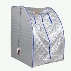 Far Infrared FIR Portable Foldable Spa Sauna Detox Ion, SI01 by FIT FOR GOOD. $165.00. Note:  Product Code For This Sauna Is JYS-B5  This portable sauna is Infrared Healthy Sauna, not the ordinary steam sauna. It adopts Conductive Far Infrared Ray Carbon Fiber Heating Element for 3 Walls Panel.  The most important is Far Infrared Ray has many and many benefits for your health. Please see the following description.  Dry Heat -Slimming- Detoxifying - Energizing - Beautifying - A Fe...