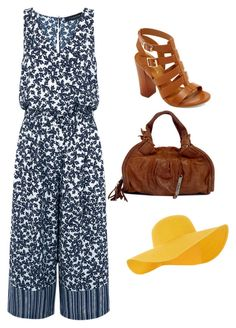 """""""Jumpsuit time!"""" by samanthainpanama ❤ liked on Polyvore featuring Thakoon, Cole Haan, Bamboo and Accessorize"""