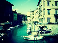 Livorno. Quartiere Venezia