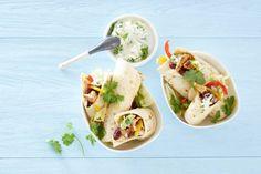 Mexicaanse wraps met kip, kidneybonen en paprika - Recept - Allerhande
