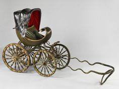 Read on to see just how much the stroller has evolved, from the first horse-drawn baby carriage to the most expensive luxury travel system on the market to-date.