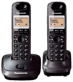 KX-TG2512 DECT TELEFON ÇİFT AHİZELİ