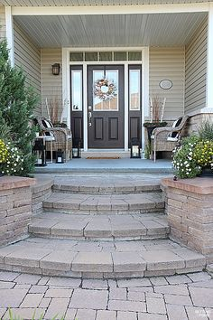 10 Front Porch Decor Ideas To Add Beauty To Your Home - see the details of this home's exterior design and decor!