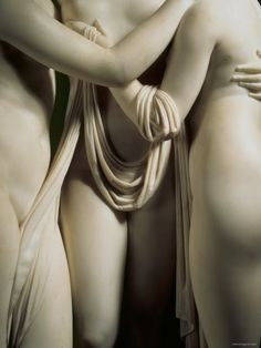Three Graces, detail - Antonio Canova