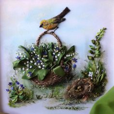 Silk Ribbon Embroidery (1) Gallery.ru / Фото #14 - Работы Нины Марьюшкиной - yartseva