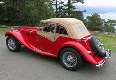 1954 MG TF Rear