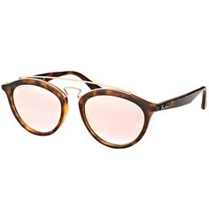 Ray-Ban RB 4257 6267B9 Gatsby II Matte Fashion Sunglasses with Copper Mirrored Gradient Lens