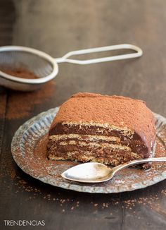 Tarta fácil de café, leche condensada y chocolate. Receta sin horno para golosos empedernid