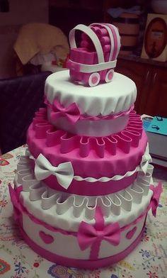 Beautiful Birthday Cakes, Beautiful Cakes, Amazing Cakes, Bolo Toy Story, Toy Story Cakes, Torta Baby Shower, Baby Cake Design, Bolo Fake Eva, Bolo Fack
