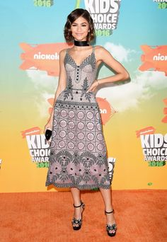 Zendaya Kids' Choice Awards 2016 Red Carpet Fashion: What the Stars Wore