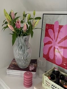 Image in FLOWERS collection by 𝚉𝙾𝙴 on We Heart It Room Ideas Bedroom, Bedroom Decor, Pastel Room, Uni Room, Cute Room Decor, Pretty Room, Aesthetic Room Decor, Pink Aesthetic, Dream Rooms