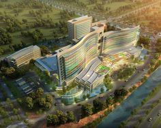 Suzhou Children's Hospital / HKS Architects