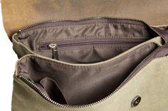 Damen Handtasche Schultertasche Leder und canvas von BKKstore