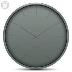 wall clock tone35 grey index (*Amazon Partner-Link)
