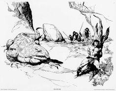 """brianmichaelbendis: """"John Buscema ~ The Conan Portfolio """""""
