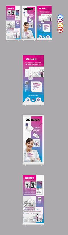 Stand Banner Roll up on Behance