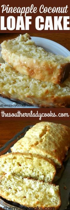 Pineapple coconut loaf cake is wonderful to serve anytime One of our most popular recipes and a delicious cake with coffee Easy recipe cake dessert coffee pineapple coconut food recipe deli is part - Most Popular Recipes, Favorite Recipes, Coconut Loaf Cake, Pineapple Coconut Bread, Baking Recipes, Cake Recipes, Coconut Recipes, Loaf Recipes, Dessert Bread