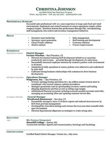 Sample resume for a banker from ResumeWriterscom Resumes
