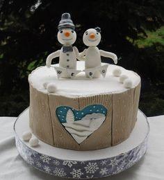 Funny wedding cake - Cake by Pasiuneameadulce