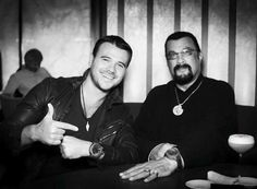 Azerbaijani singer-songwriter and businessman, Emin  Ağalarov and legendary American actor Steven Seagal apparently share the same passion: U-BOAT watches. Yesterday eve they were both sporting the same watch U-1001 55mm. #uboatwatch #uboat #luxury #emin #stevenseagal #luxurywatches #celebrities #picoftheday #watchoftheday #watchfan #watchpic #italianstyle #italofontana #italiandesign #diverswatch #instapic #instawatch