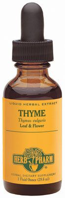 THYME: better than benzoyl peroxide at clearing up acne. http://nomoredirtylooks.com/2013/09/diy-beauty-anns-blemish-banish-oil/