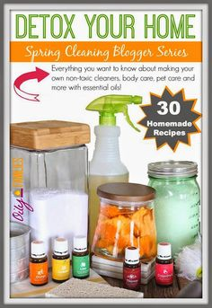 Mama Marcie: Detox Your Home with Young Living Essential Oils