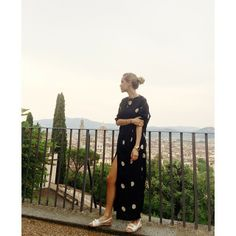 via lookdepernille - Got spoiled with a rocking skyline while having dinner with @LUISAVIAROMA.COM ️#firenze4ever