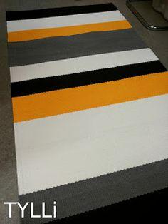 TYLLi: SHOP: epätasaraitaa kelta-valko-harmaa-musta