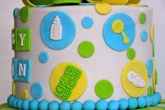 Celebrate with Cake!: Baby Boy Cake
