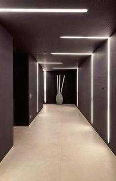 LED Lighting Design Inside The Private House Chameleon In Mallorca