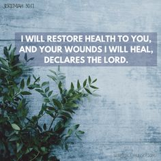 Here are 20 Bible verses for healing. These healing scriptures help align your heart and mind on the power and love of Jesus Christ and His ministry to us. God Healing Quotes, Healing Bible Verses, Powerful Bible Verses, Encouraging Bible Verses, Healing Words, Prayers For Healing, Biblical Quotes, Scripture Quotes, Healing Heart