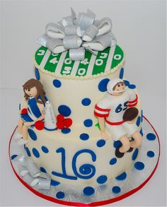 Cup A Dee Cakes Blog Football And Cheerleader Cake