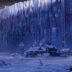 © 2015 Fantasy Flight Games Artwork done for FFG Game Of Thrones Decor, Arte Game Of Thrones, Game Of Thrones Castles, Black Castle, Sci Fi Fantasy, Black Art, Holiday Fun, Card Games, Fan Art