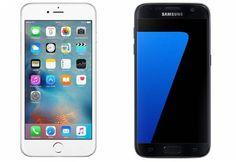 Afin de faire face à la concurrence des marques chinoises, Samsung et Apple ont décidé de s'allier pour créer un smartphone commun. Si on ne sait pas à quoi ressemblera cet appareil, les deux firmes ont précisé qu'il reprendra les meilleurs éléments des iPhone et des Galaxy S (ici, l'iPhone 6 et le Galaxy S7).