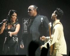 Sheila E., Stevie Wonder & Prince : Inglewood Avril 2011
