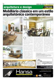 22° Publicação Jornal bom dia – Matéria - Mobiliário Clássico  27-01-12