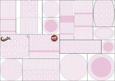 White дамаска на Лила: Етикети Print Candy Bar безплатно.