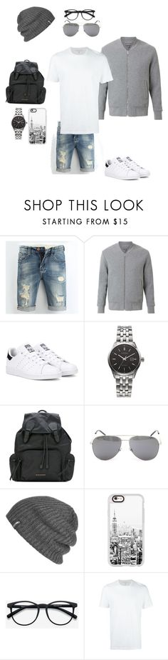 """""""#01"""" by to-mars on Polyvore featuring Witchery, adidas Originals, Citizen, Burberry, Yves Saint Laurent, Outdoor Research, Casetify, EyeBuyDirect.com, Neil Barrett und men's fashion"""