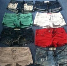 American Eagle shorts!! :)