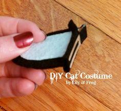 DIY Cat Costume Ears Tail (20) (640x590) More