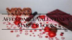 Affordable Valentine's Makeup Look Makeup Looks, About Me Blog, Valentines, Posts, Live, Food, Valentine's Day Diy, Messages, Valantine Day