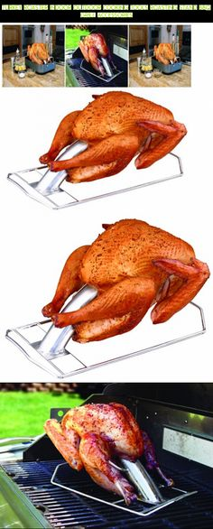 Turkey Roaster Indoor Outdoor Cooking Tools Roasting Stand BBQ Grill Accessories #tech #drone #technology #cooking #camera #kit #gadgets #accessories #shopping #plans #racing #fpv #products #parts #outdoor
